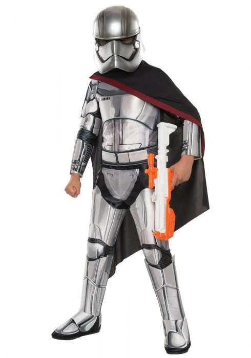Child Deluxe Star Wars Force Awakens Captain Phasma Costume