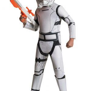 Child Deluxe Star Wars Force Awakens Flametrooper Costume