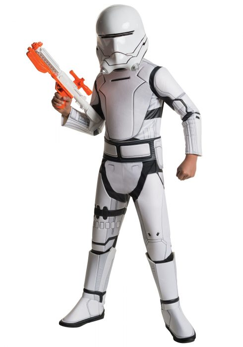 Child Deluxe Star Wars Force Awakens Flametrooper Costume