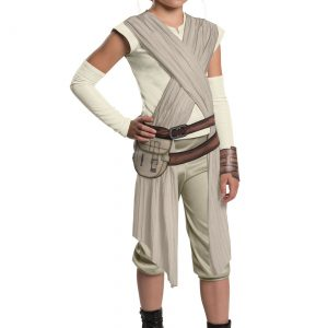 Child Deluxe Star Wars The Force Awakens Rey Costume
