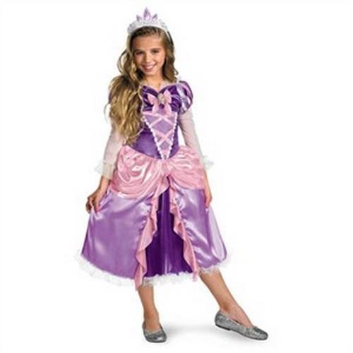 Child Deluxe Tangled Rapunzel Costume