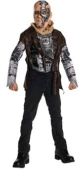 Child Deluxe Terminator T600 Costume