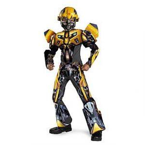 Child Deluxe Transformers 3-D Bumblebee Costume