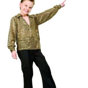 Child Disco Costume (Gold)