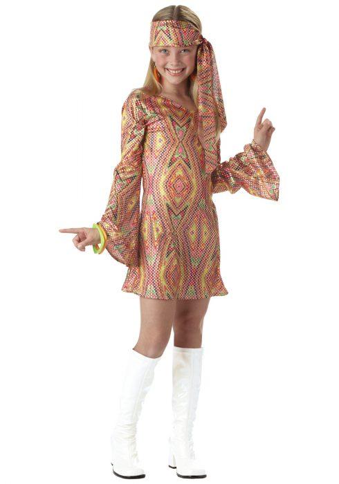 Child Disco Girl Costume