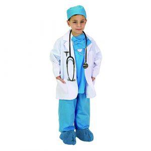 Child Doctor Costume (Blue)