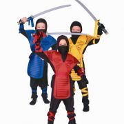 Child Dragon Ninja Master Costume