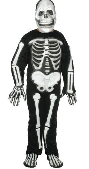 Child EVA Skeleton Costume