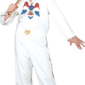 Child Elvis White Jumpsuit