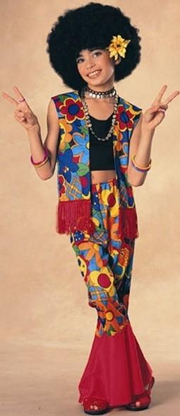 Child Flower Power Hippie Costume
