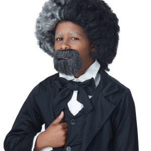 Child Frederick Douglass Wig and Goatee