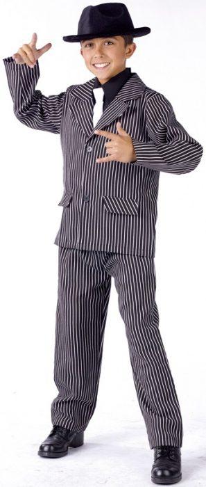 Child Gangster Costume