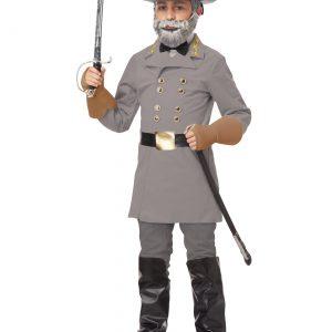 Child General Robert E. Lee Costume