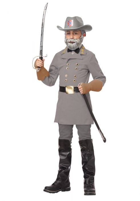 Child General Robert E. Lee Costume