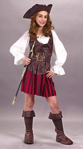 Child Girl Buccaneer Costume