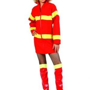 Child Girl Firefighter Costume
