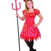 Child Glitter Devilina Costume