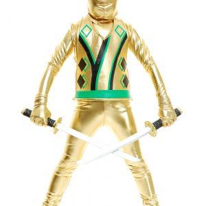 Child Gold Ninja Avengers Series III Costume