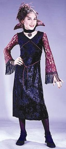 Child Gothic Lace Vampire Costume
