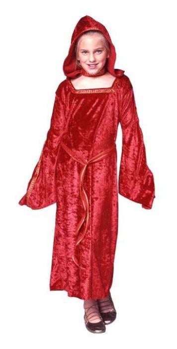 Child Gothic Red Costume