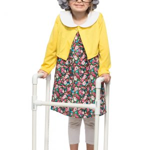 Child Grandma Costume