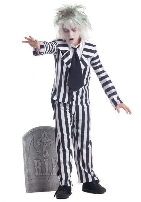 Child Graveyard Ghost Costume
