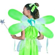 Child Green Fairy Wings