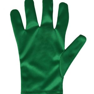 Child Green Gloves