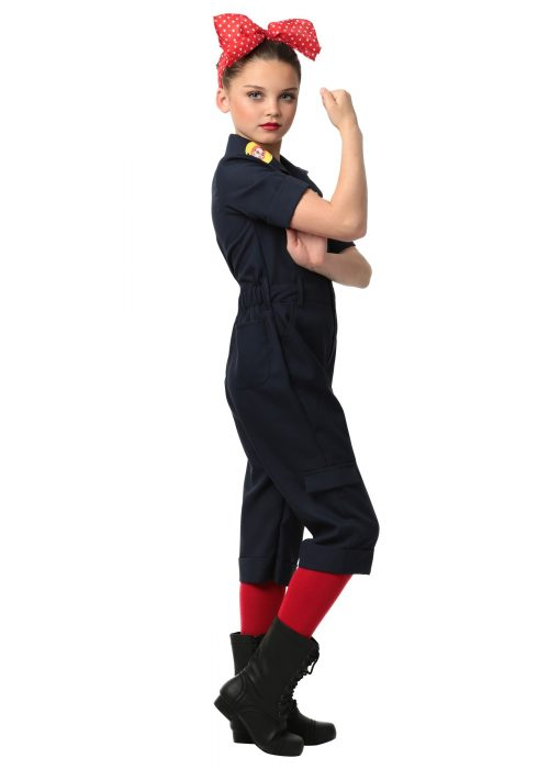 Child Hardworking Lady Costume