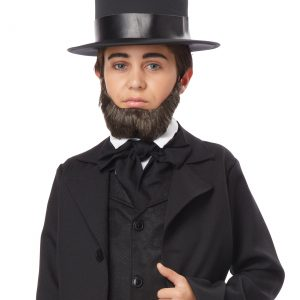 Child Honest Abe Beard