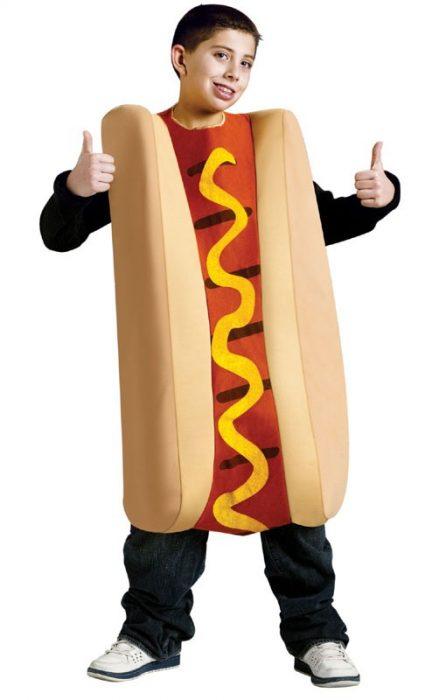 Child Hot Dog Costume