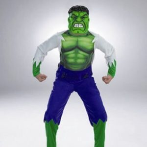 Child Hulk Costume