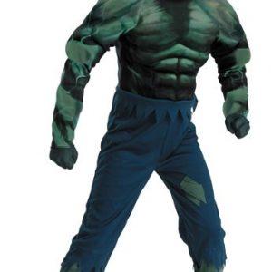 Child Hulk Muscle Costume