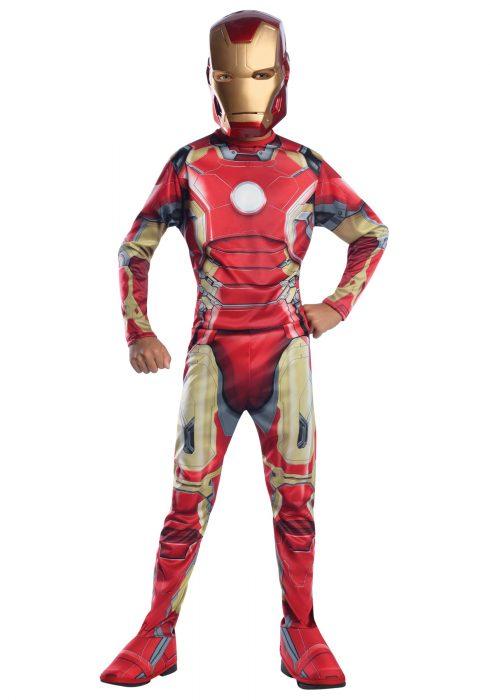 Child Iron Man Mark 43 Avengers 2 Costume