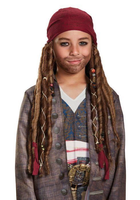 Child Jack Sparrow Bandana & Dreads Kit
