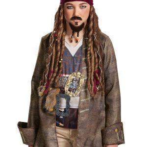 Child Jack Sparrow Goatee & Mustache