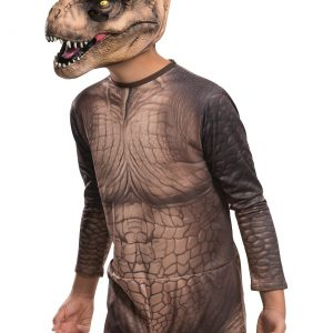 Child Jurassic World T-Rex 3/4 Mask