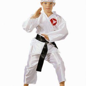 Child Karate Boy Costume