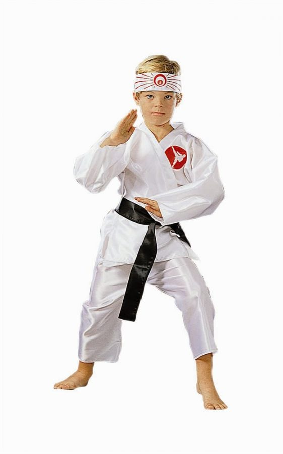Child Karate Boy Costume
