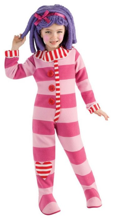 Child Lalaloopsy Deluxe Pillow Feather Bed Costume - small