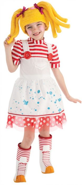 Child Lalaloopsy Deluxe Spot Splatter Splash Costume - Small