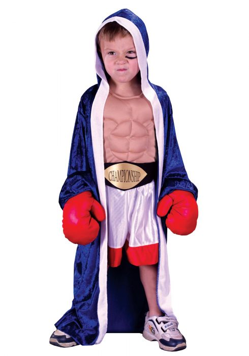 Child Lil' Champ Boxer Costume