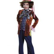 Child Mad Hatter Deluxe Costume