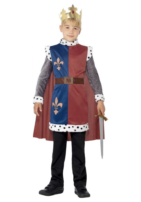 Child Medieval King Arthur Tunic