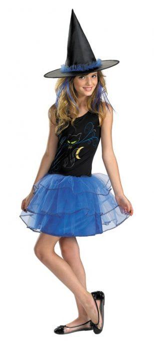 Child Midnight Witch Costume