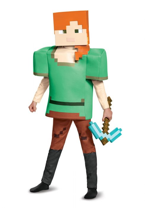 Child Minecraft Alex Deluxe Costume