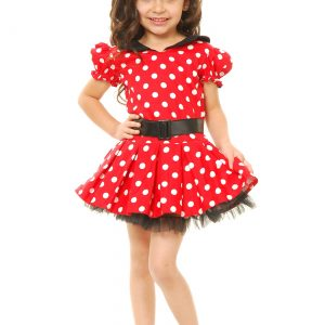 Child Miss Mouse Costume