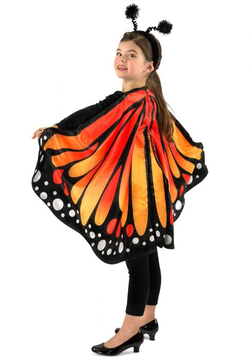 Child Monarch Butterfly Cape