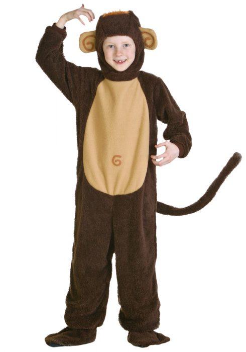Child Monkey Costume