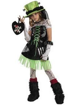 Child Monster Bride Costume